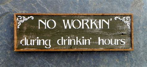 wall decor signs wood signs bar sign western wall decor by crowbardsigns