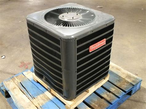 capacitor goodman air conditioner goodman 2 ton gsx13 air conditioner condenser 13 seer 208 230v 1ph