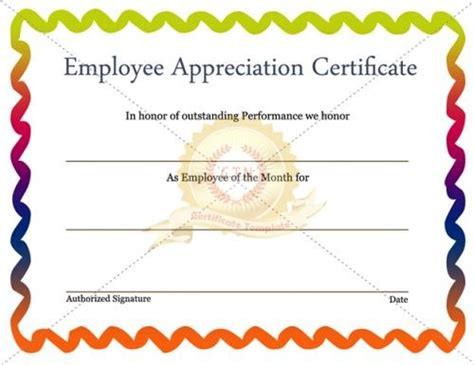 employee recognition card template 28 best images about employee award on