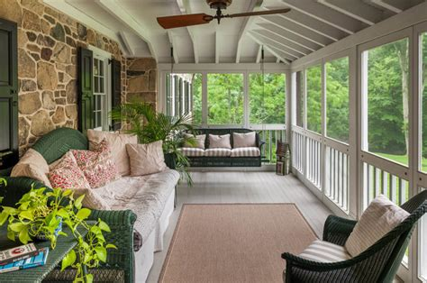 Enclosed Patio Swing Wicker Porch Swing Porch With Arches Build Cape
