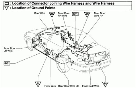2001 toyota camry wiring diagram fuse box and wiring diagram