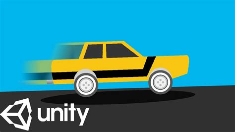 car tutorial in unity 2d car unity tutorial youtube