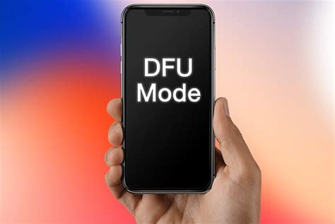 how to put iphone x in dfu mode in less than a minute