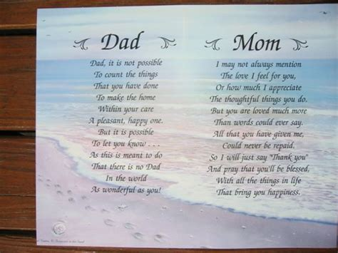 parent poem and poems i you and personalized