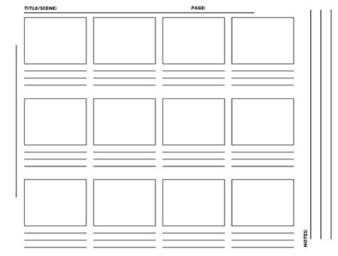 The 25 Best Storyboard Template Ideas On Pinterest Storyboard Online Storyboard Pdf And Scrivener Comic Book Template