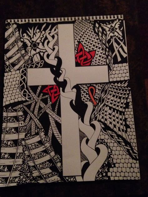 doodle god druid 38 best images about zentangle crosses on