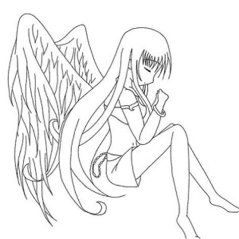 anime angel girl coloring pages picture of princess anime coloring page coloring sky