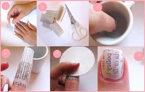 tutorial nail art paper 2015 nail art tutorials to do at home