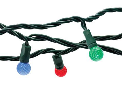 commercial grade led string lights commercial grade 25 led g12 string lights 6 spacing