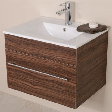 Aspen 600 Walnut Bathroom Furniture Pack Walnut Bathroom Furniture