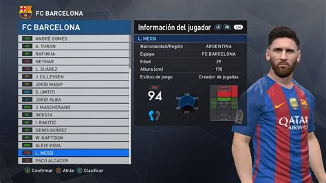 messi tattoo in pes 2016 pes modif pes 2017 lionel messi update new hair