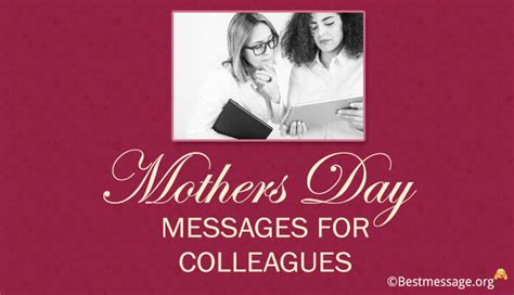 messages for colleagues heartfelt mother s day messages greeting cards and wishes