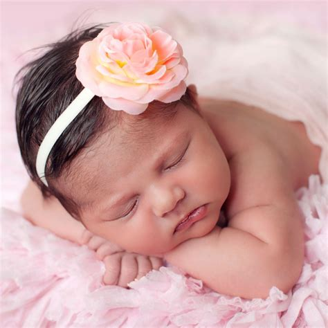 adorable girls headband of ivory silk flowers great for cute cute peach pink silk flower headband childrensalon