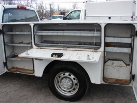 stahl utility bed buy used very clean stahl utility bed fleet lease runs