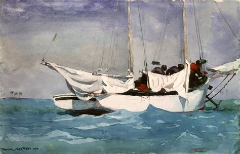 key west boats careers art history news winslow homer in the national gallery of art