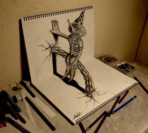 3d drawing online free 22 amazing collections of 3d pencil drawings freecreatives