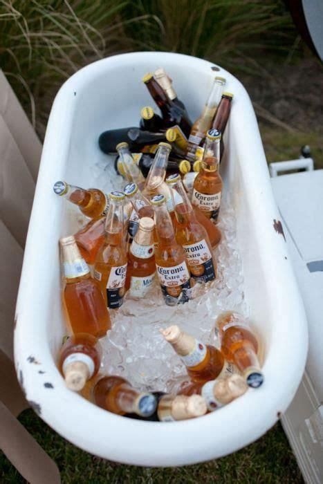 bath tubs full of beer bathing experience pinterest