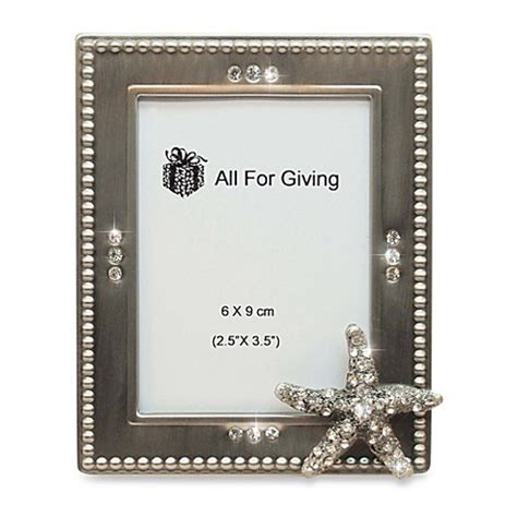 Bed Bath Beyond Frames Buy All For Giving Starfish Metal And Photo Frame From Bed Bath Beyond