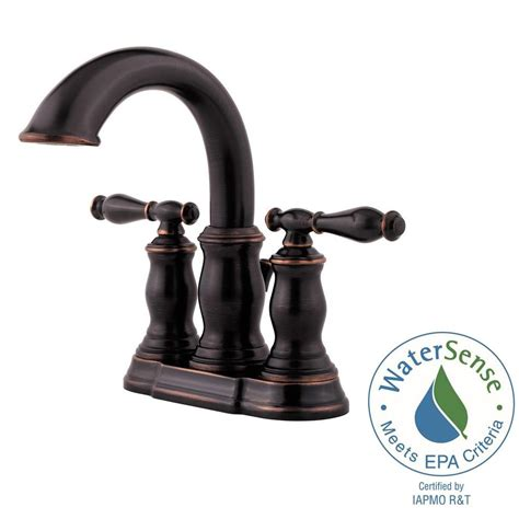 Pfister Hanover Faucet by Pfister Hanover 4 In Centerset 2 Handle Bathroom Faucet