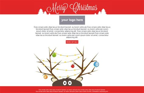 after effects template christmas card youtube