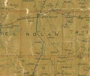 nolan county map