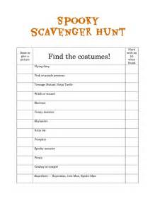 template for scavenger hunt allparenting spooky scavenger hunt free printable