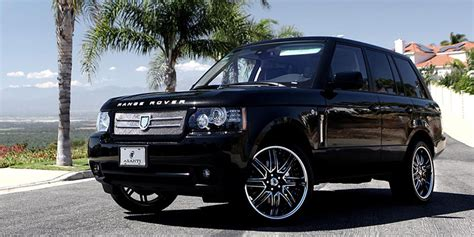black chrome range rover land rover range rover da163 gallery asanti wheels