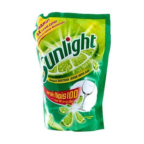 Sunlight Reffil 240ml Sabun Pencuci Piring jual sunlight lime reffil sabun cuci cair 800 ml
