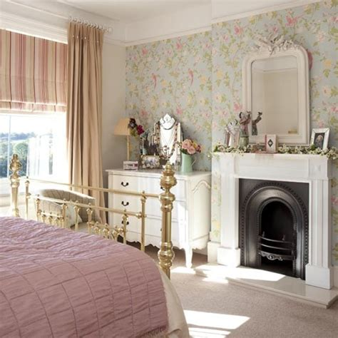 Bedroom Fireplace Design Ideas Floral Bedroom Ideas With Fireplaces