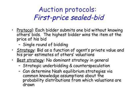 bid prices auctions