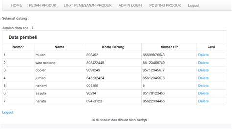 membuat web dengan php murni membuat web jual beli dengan php dilengkapi dengan admin