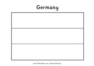 5 best images of blank printable flag of germany germany