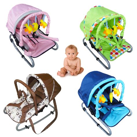 Bouncy Chairs For Babies by Child Bouncer Baby Infant Bungee Rocker Recline Chair With