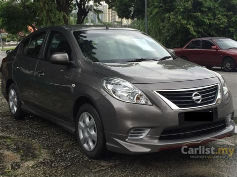 nissan almera 2013 nissan almera 2013 e 1 5 in penang automatic sedan brown