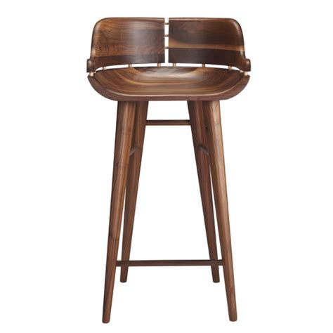 kurf walnut counter stool templeandwebster compare club