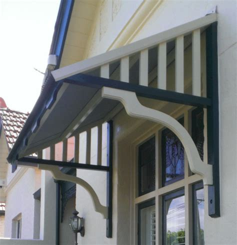 outdoor window awnings and canopies timber window canopies geelong surf coast awnings