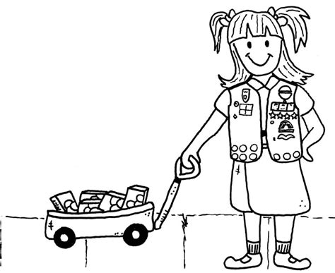 Girl Scout Promise Coloring Pages Az Coloring Pages Scout Promise Coloring Page
