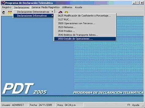 descargar modulo integrador pdt detalle