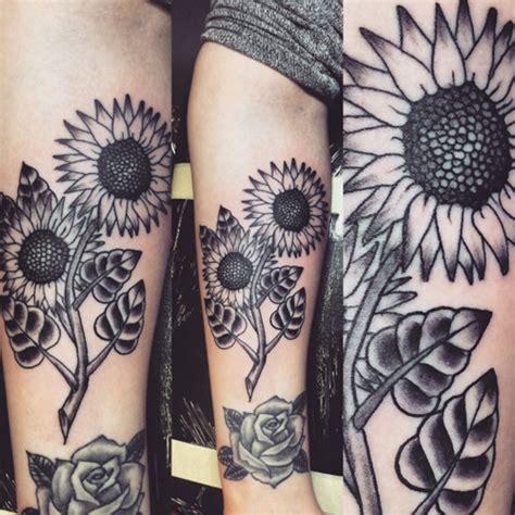 imagenes de tatuajes de girasoles tatuajes de girasol y su significado