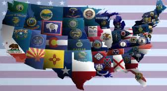 united states of america flag map by jaysimons on deviantart