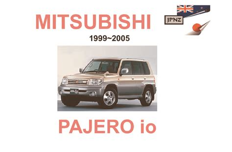 car owners manuals free downloads 2005 mitsubishi pajero transmission control service manual free download mitsubishi pajero owners mitsubishi pajero montero factory