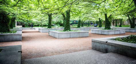 landscape design chicago the institute of chicago south garden designed by dan