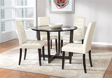 south 5 dining set mabry espresso 5 pc dining set chairs