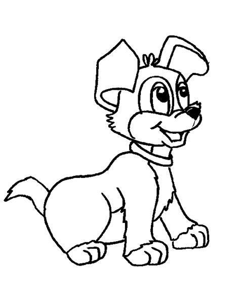 coloring in pages of dogs cute dog coloring pages free printable pictures coloring