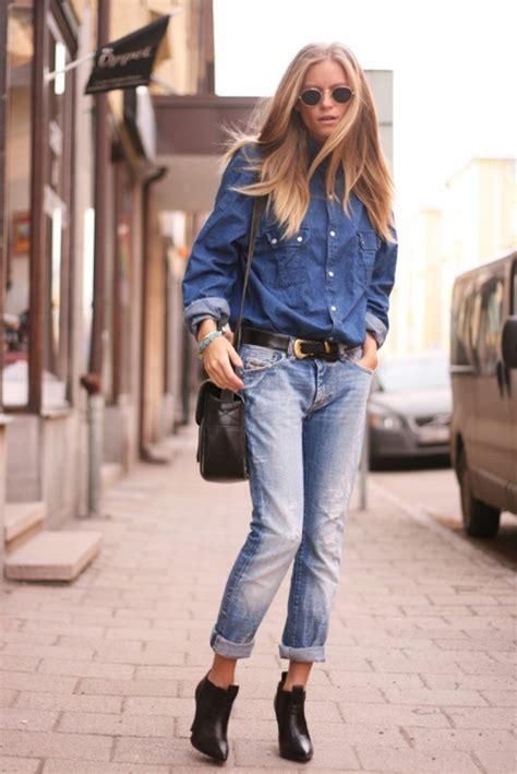 Jump Denim Pop Baju Wanita 20 style tips on how to wear boyfriend gurl