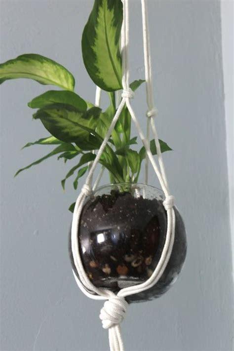 Diy Plant Hangers - diy macrame plant hanger pretty handy
