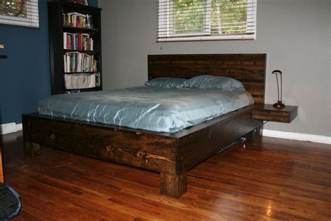 queen platform bed plans plans diy   doweling