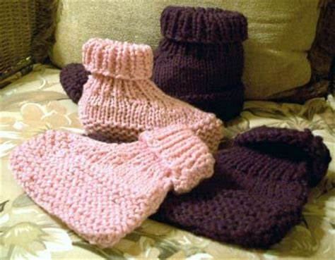 knitted slippers pattern with two needles baby ravelry and the o jays on