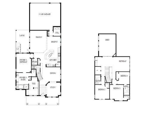 Laureate Park By David Weekley Lake Nona Floor Plans