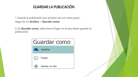 tareas basicas de publisher tareas basicas de publisher